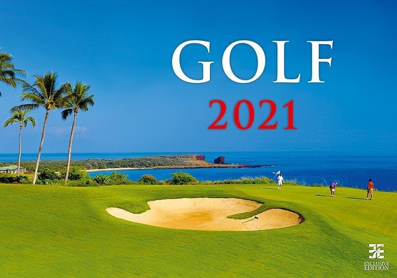 Kalendarz ścienny wieloplanszowy Golf 2021 - exclusive edition - okładka