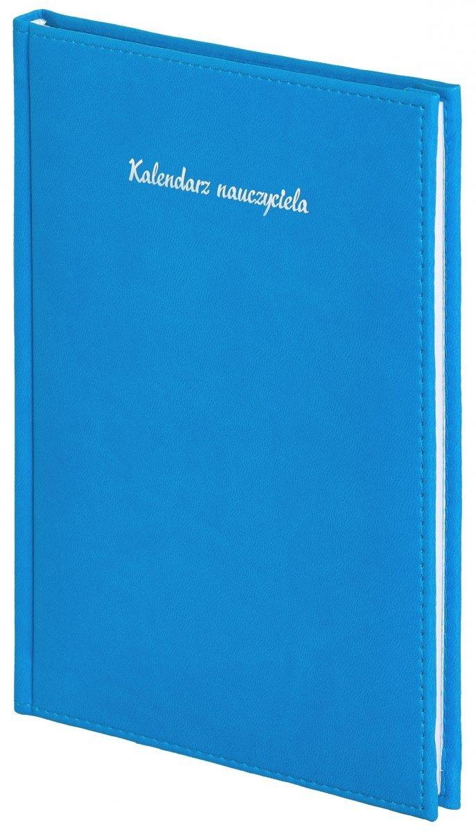 Oprawa kalendarza dla nauczyciela Vivella w kolorze niebieskim