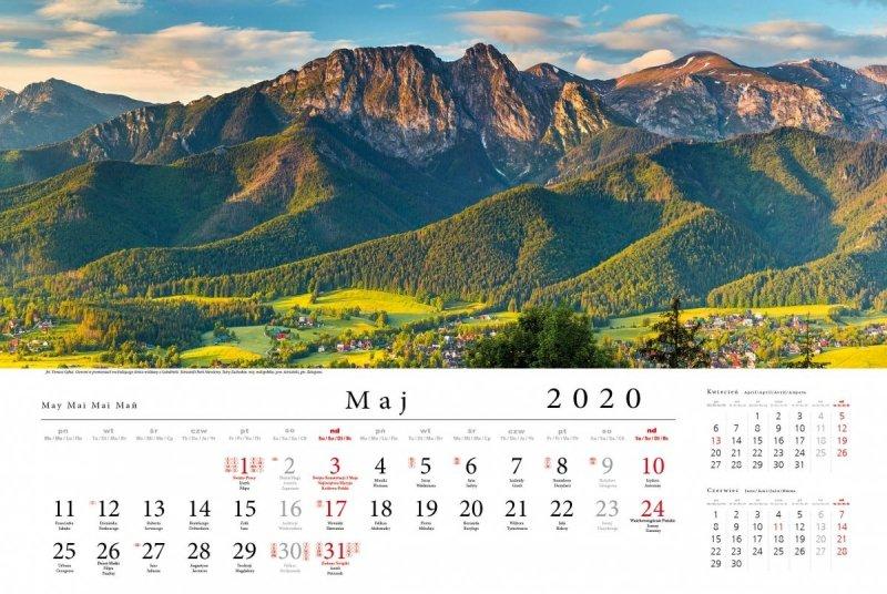 Tatry w panoramie 2020 - maj 2020