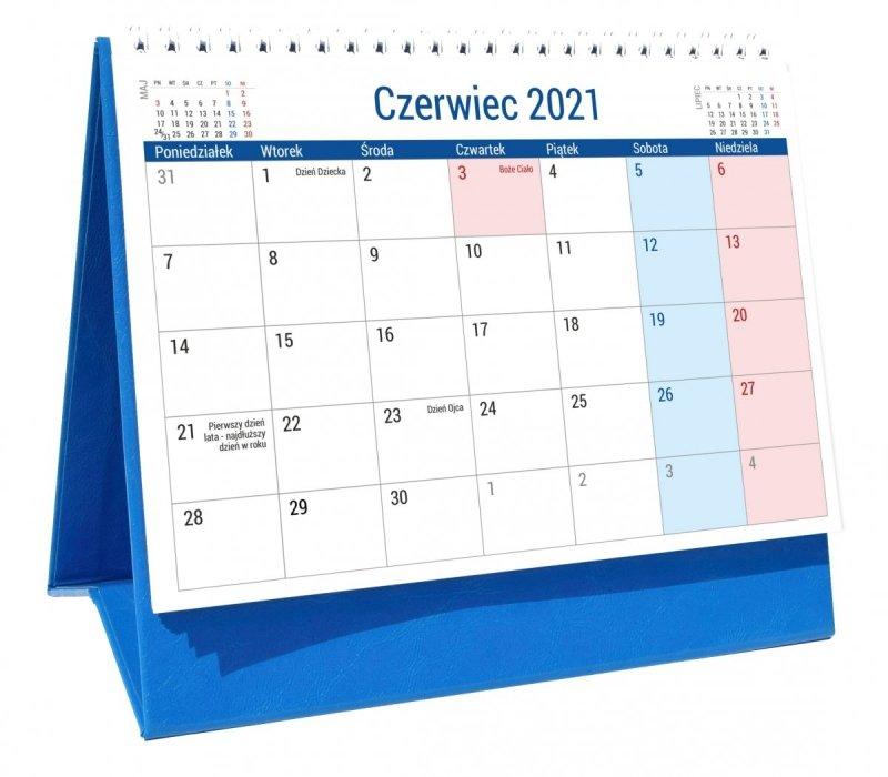 Kalendarz biurkowy PLANO dla uczniów i nauczycieli na rok szkolny 2021/2022