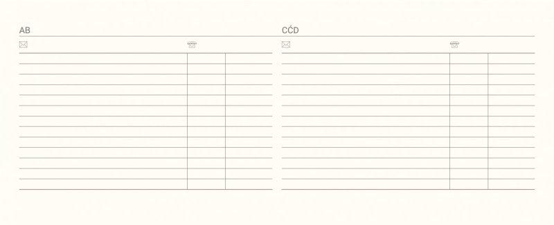 Kalendarz biurkowy tygodniowy na rok szkolny 2021/2022 PREMIUM biały