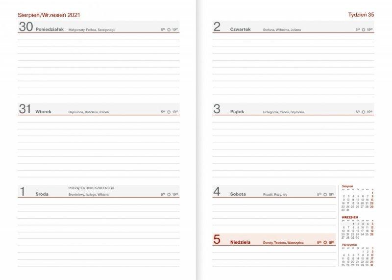 Wkład z kalendarzem dla nauczyciela na rok szkolny 2021/2022