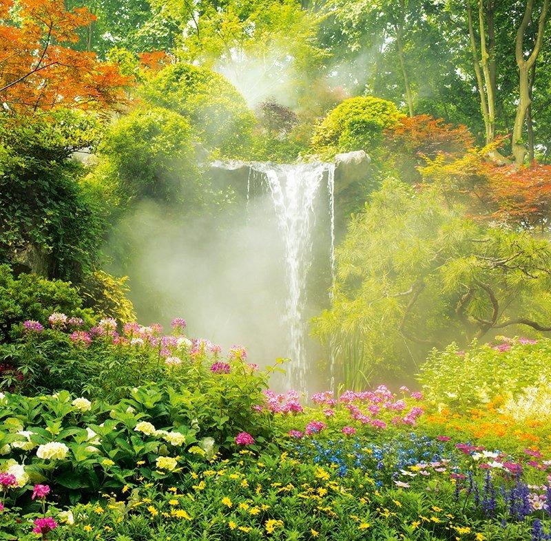 Kalendarz ścienny wieloplanszowy Gardens 2022 z naklejkami - wrzesień 2022