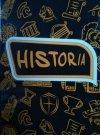 Zeszyt A5 80 k oprawa trawda kratka Historia