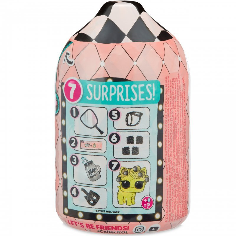 L.O.L. Surprise Zwierzątko LOL z futerkiem Fuzzy Pets niespodzianka