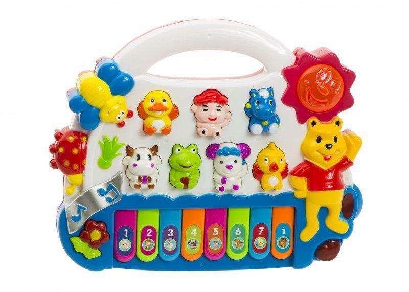 Pianinko-organki-dla-dzieci-odgłosy-zwierząt-zielone-1