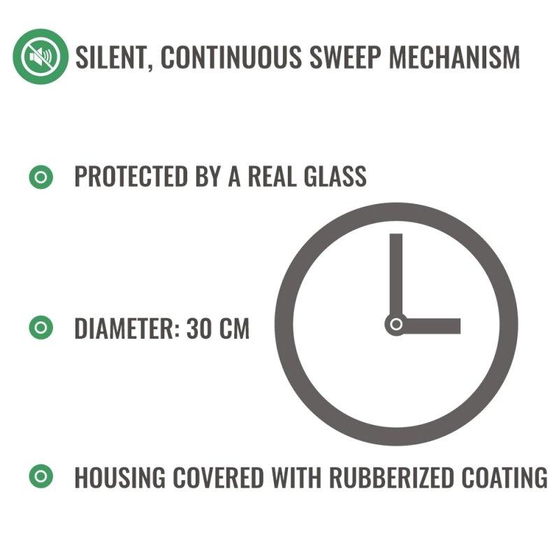 Zegar dla spóźnialskich (DE) - cichy mechanizm