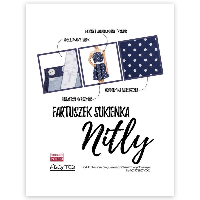 Nitly Dot - Fartuszek Sukienka