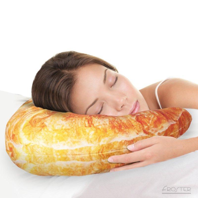 Grzejący Croissant - Poduszka Gigantyczny Rogal