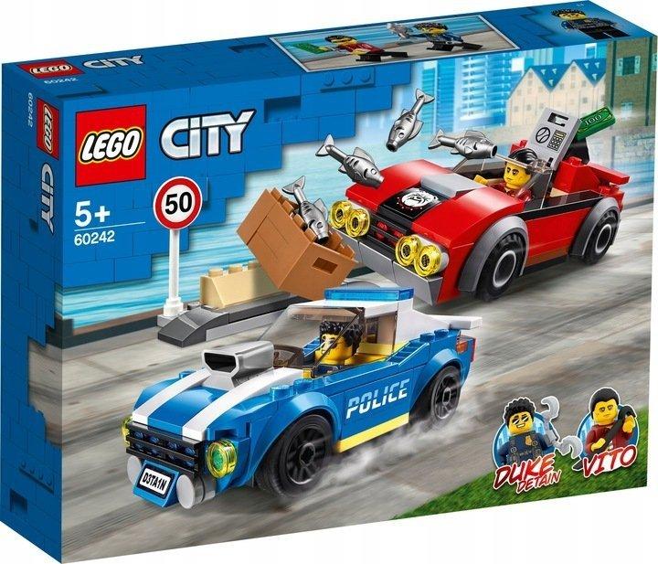 LEGO CITY Aresztowanie na autostradzie 185 el