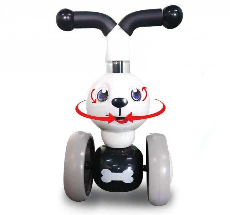 Rowerek biegowy Piesek jeździk mini rower 4 koła