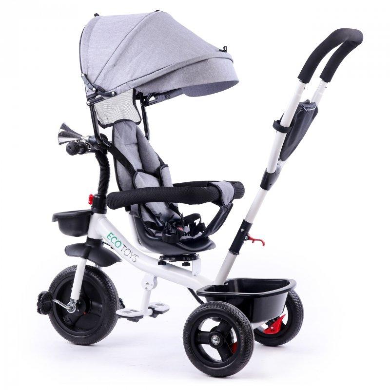 Rower trójkołowy wózek obracane siedzisko Ecotoys