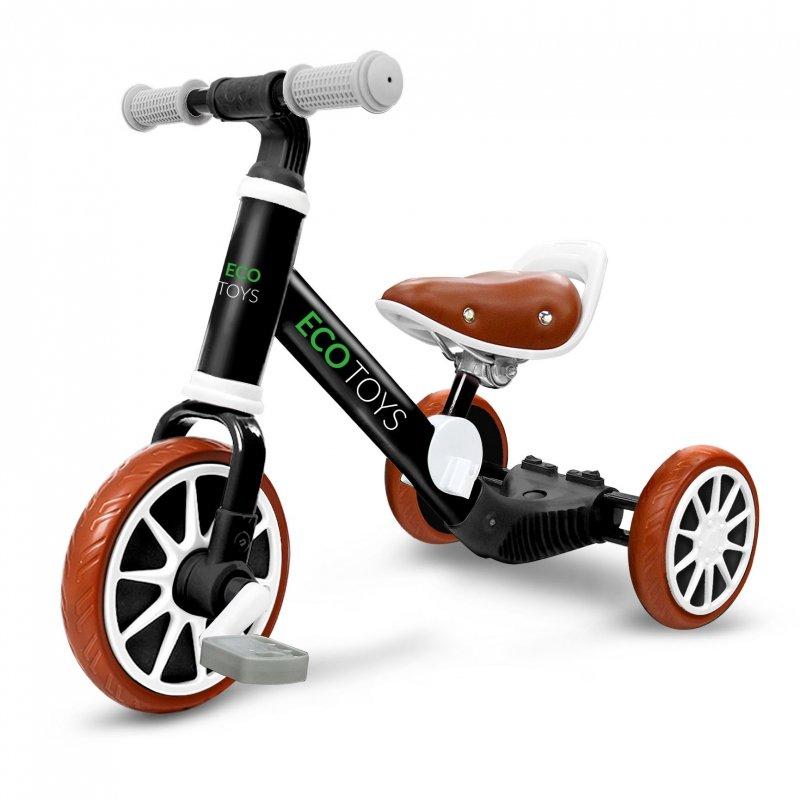 Rowerek biegowy rower 3w1 z pedałami + kółka boczne