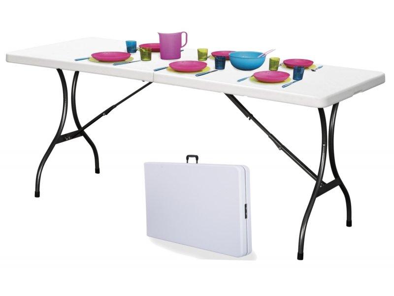 Stół cateringowy bankietowy ogrodowy składany 240