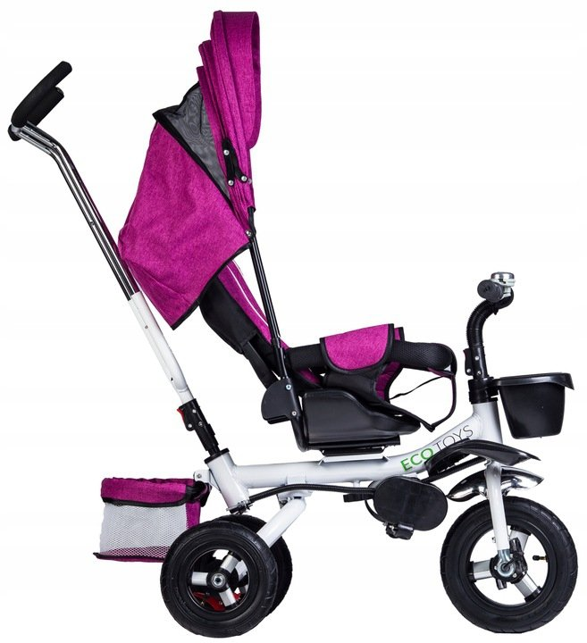 Rowerek trójkołowy wózek jeździk ROSEO Ecotoys