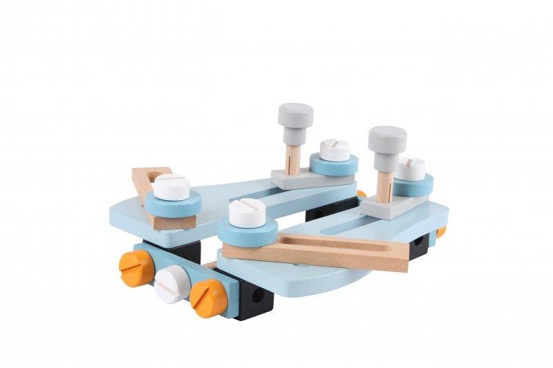 Zestaw konstrukcyjny 52 elementy Ecotoys