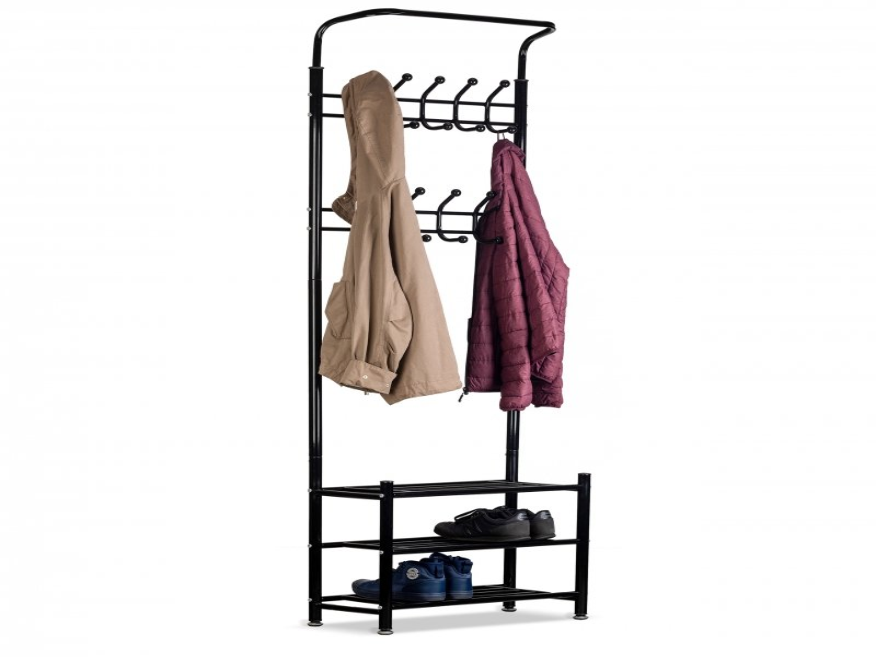 Wieszak na ubrania +szafka regał półka na buty ModernHome