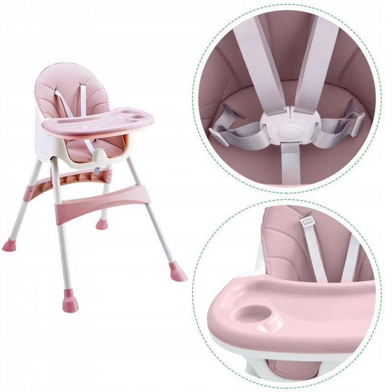 Fotelik  do karmienia 2w1 pink Ecotyos