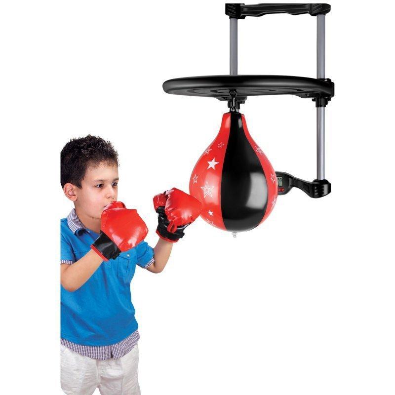 Zestaw bokserski dla dzieci z mocowaniem na drzwi