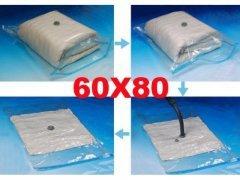 Pokrowiec worek próżniowy hermetyczny 60x80
