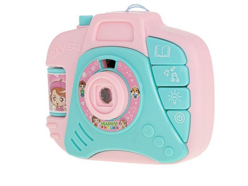Aparat fotograficzny zabawka projektor + dźwięki
