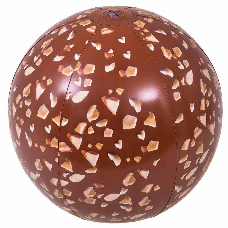 Piłka plażowa dmuchana czekolada 50 cm
