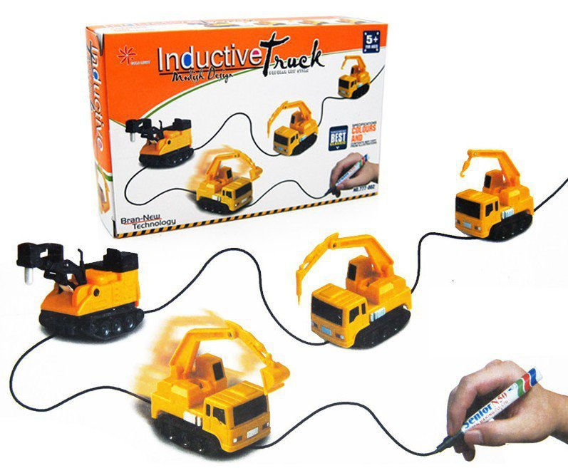 Pojazd-Indukcyjny-MAGIC-INDUCTIVE-CAR