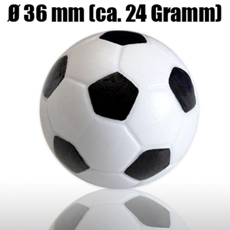 Zestaw piłeczek do piłkarzyków śr.36 mm 4 sztuki