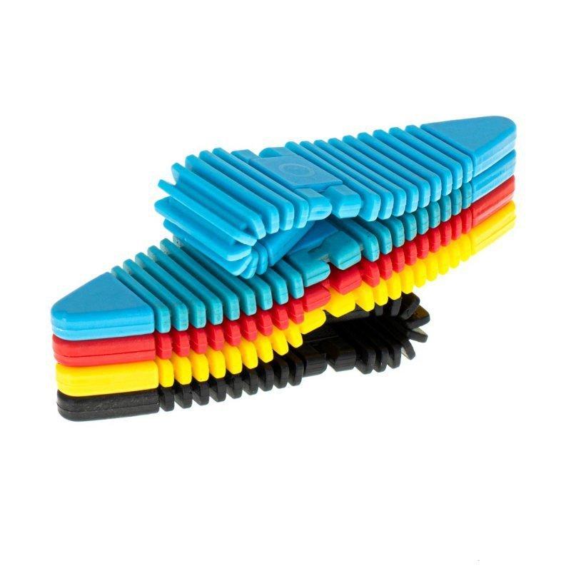 Klocki magnetyczne elastyczne puzzle 24 el.