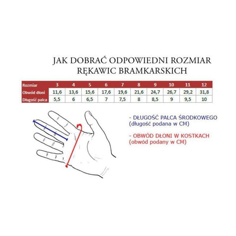 Rękawice Bramkarskie Predator Training G84127 R.4