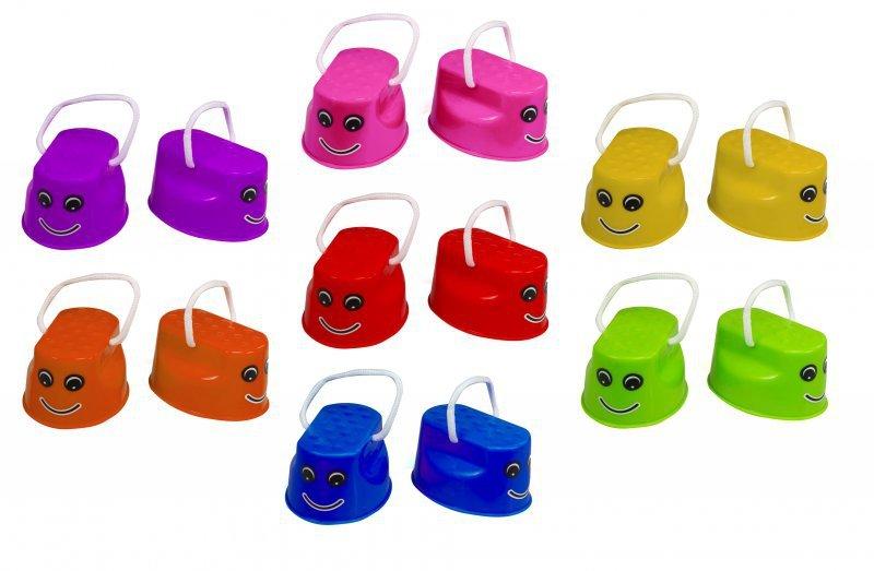 Szczudła-dla-dzieci-chodaczki-sport-równowaga-różowe-3
