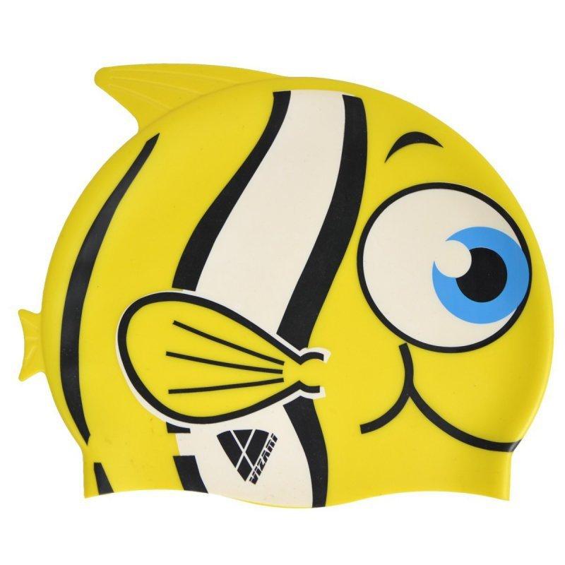 Zestaw Junior Fish Okularki  i Czepek Żółty
