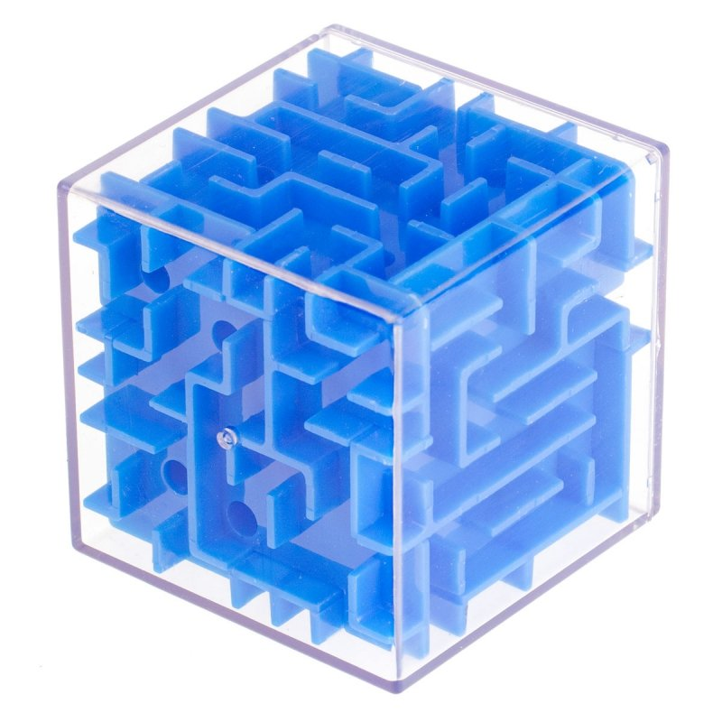 Kostka 3D łamigłówka labirynt gra zręcznościowa