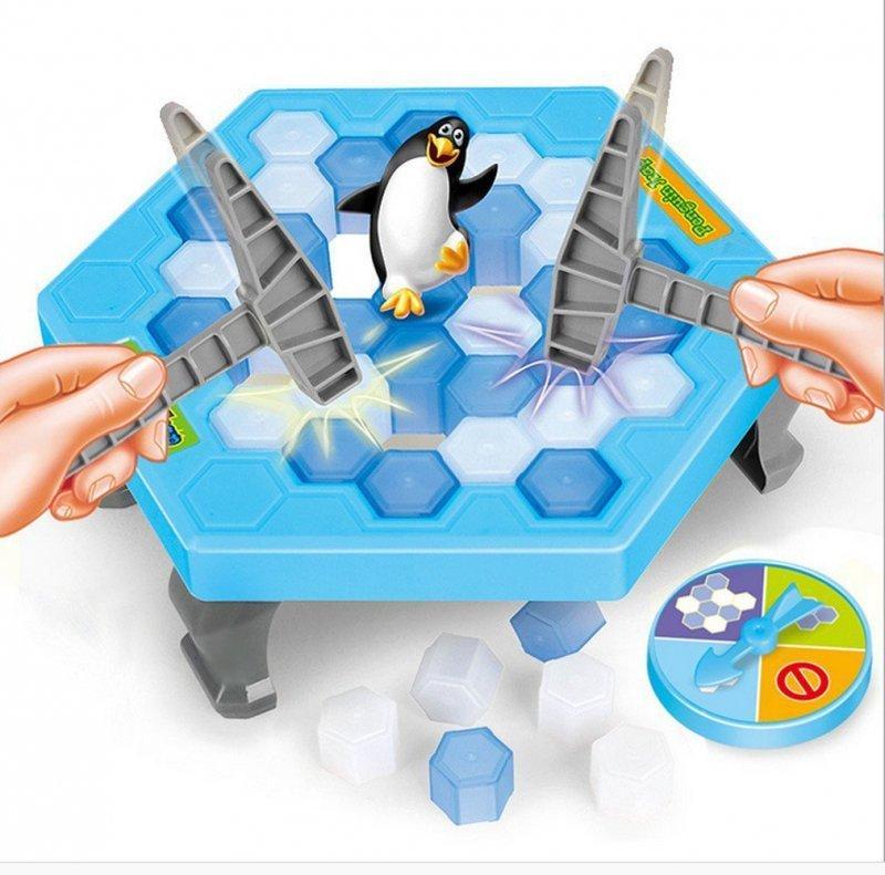 Gra Pingwinek w pułapce