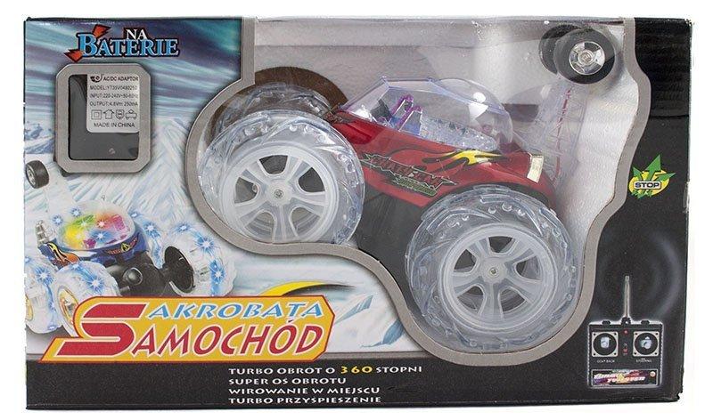 Samochód RC tumbler Akrobata