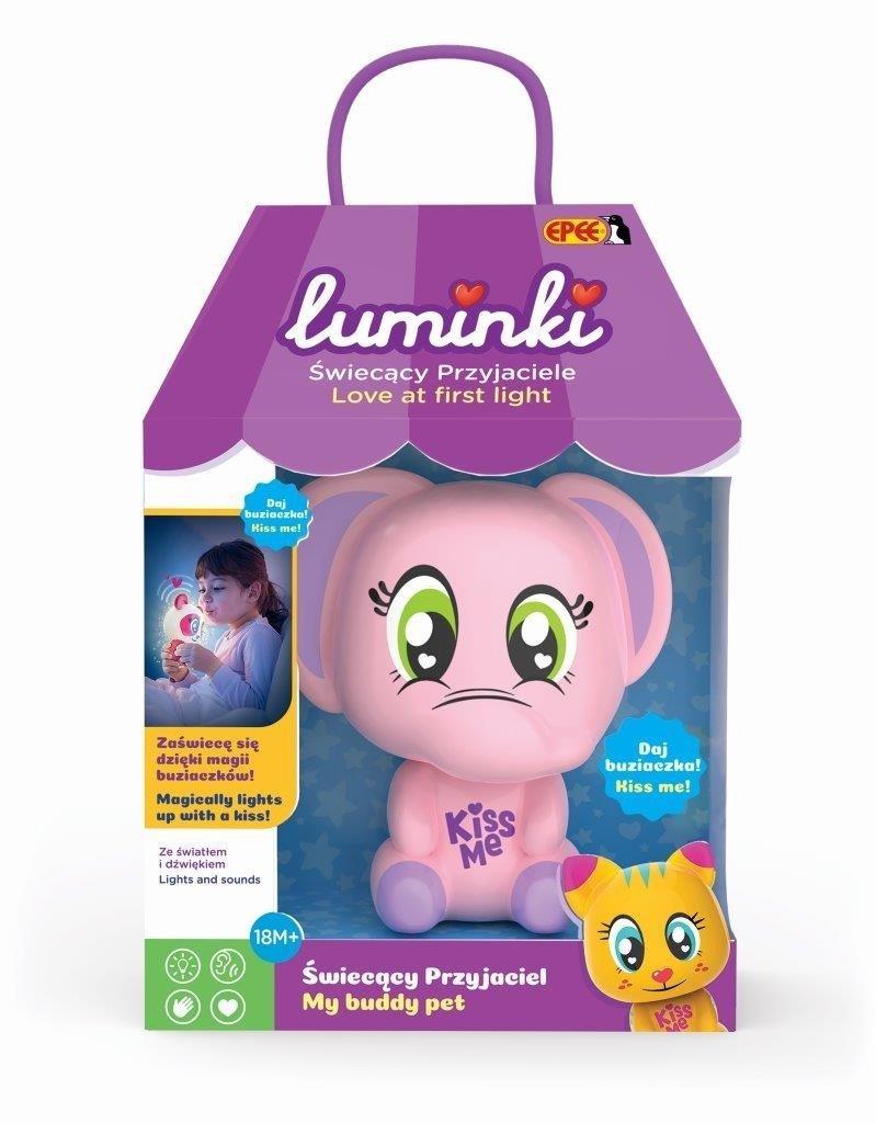 Luminki -Zwierzak 1 pack.-różowy