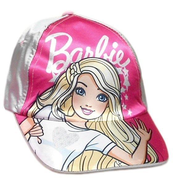 Czapka z daszkiem Barbie  Rozmiar: 51/54 cm