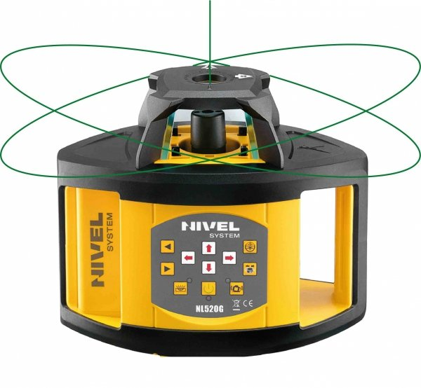 Nivel System NL520G zestaw  z statywem i łatą