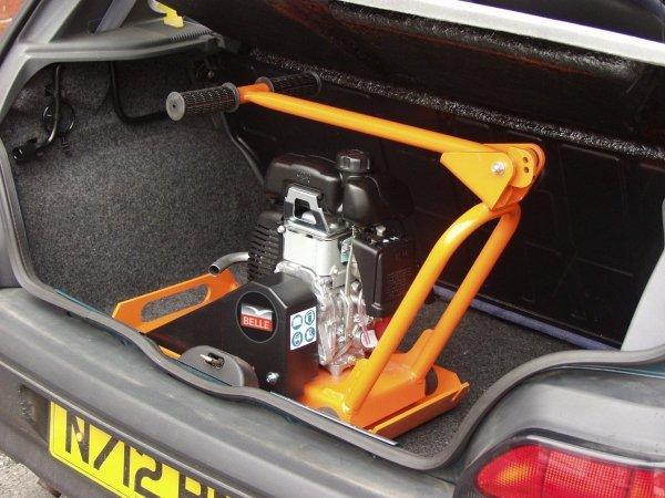 Zagęszczarka jednokierunkowa Altrad Belle MPC 300 Minipac