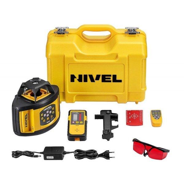 Nivel System NL520 znakomity dwuspadkowy niwelator laserowy