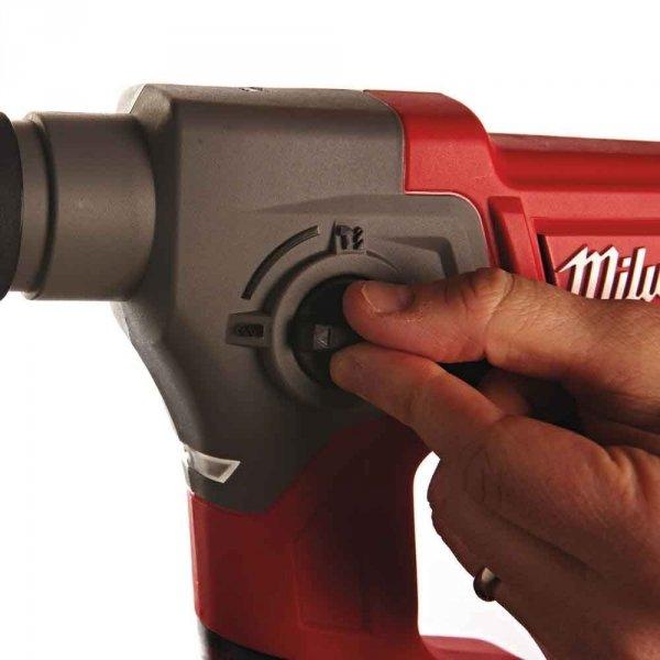 Znakomita młotowiertarka Milwaukee SDS-PLUS M12 CH-202X