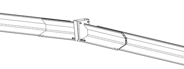 TAS-UNI-DP regulowany adapter do wykonywania załomów daszkowych