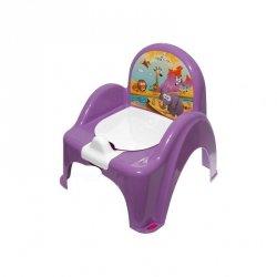 Nocnik-krzesełko safari fioletowy