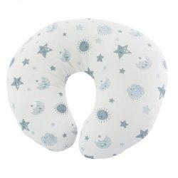 Baby nursing cushion smilymoon szary
