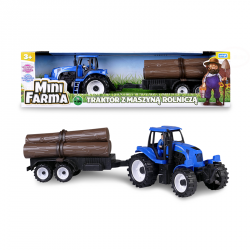 Mini farma traktor z masz.roln