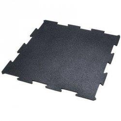 Mata puzzle gumowa Pavi Sorte 100x100x2,0cm czarna