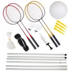 Zestaw do badmintona i siatkówki Enero 10w1
