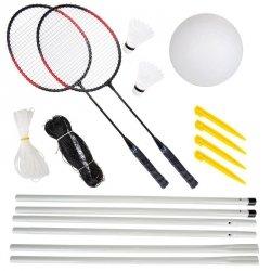 Zestaw do badmintona i siatkówki Enero 6w1
