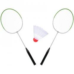 Zestaw do badmintona metalowy i lotka Enero
