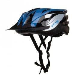 Kask rowerowy regulowany SPARTAN MTB BLUE r.S
